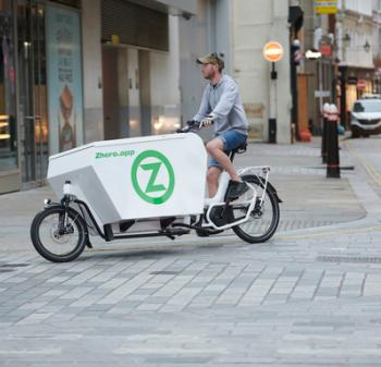 Image of a Zhero cargo bike