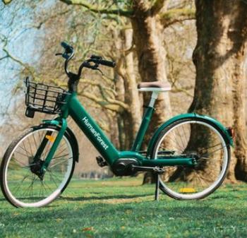 E bike in Park