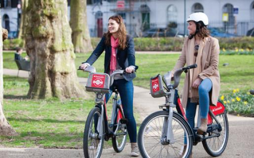 50% off Santander cycles through ZEN