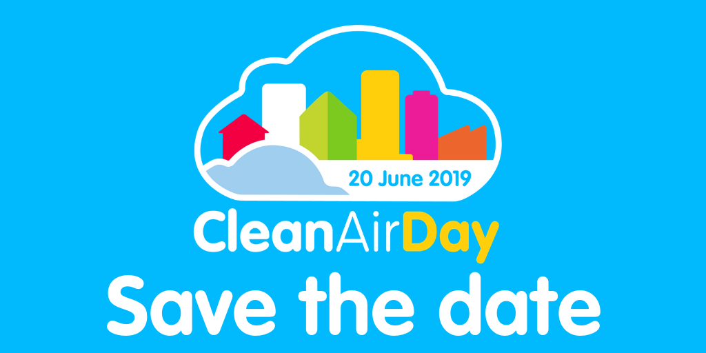 Clean Air Day 20 June Save the Date