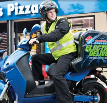 Domino's Electric Scooters