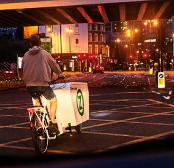 Zhero Cargo Bike - Zero Emissions Network