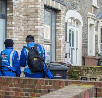 ZEN team at door step