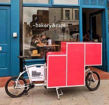 Bread by Bike Cargo Bike