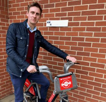Frank Marr Santander Cycles