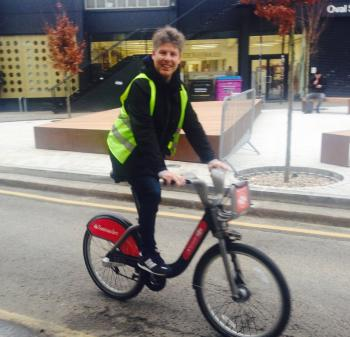 Lee Calverts Santander Cycles